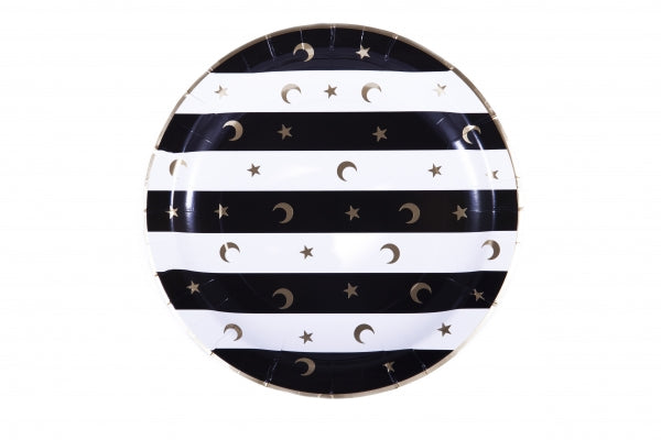 Crescent Moon and Star Plates