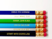 Load image into Gallery viewer, Islamic Reminder Pencils (Mix Pack)