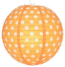 Load image into Gallery viewer, Polka Dots Paper Lanterns 14""