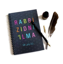 Load image into Gallery viewer, Rabbi Zidni Ilma Notebook