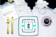 Load image into Gallery viewer, Ramadan Mubarak Gold Charm Napkins