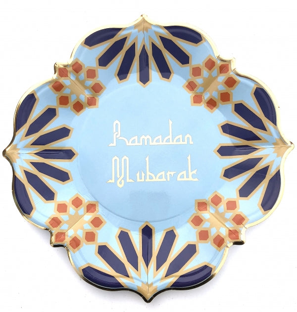 Ramadan Mubarak Marrakesh Lunch Plates