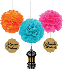Load image into Gallery viewer, Ramadan & Eid Colorful Pompom Set
