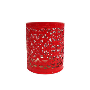 Decorative Metallic Candle Holder
