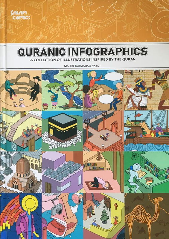 Quranic Infographics: A Collection of Illustrations Inspired by the Qur'an
