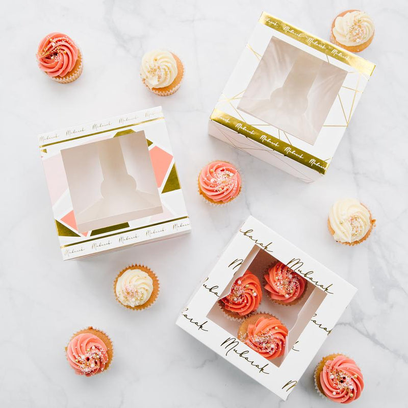 Pop of Color 'Mubarak' Treat Boxes (Set of 3)