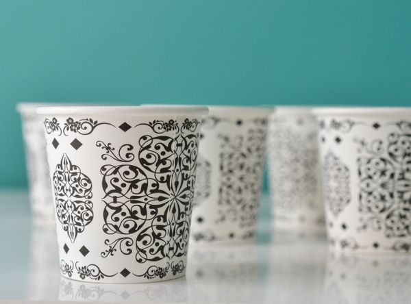 Islamic Design Coffee Paper Cups 4oz