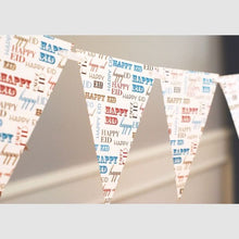 Load image into Gallery viewer, Happy Eid Typo Bunting