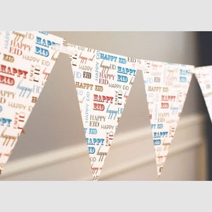 Happy Eid Typo Bunting