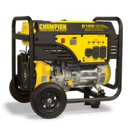 Champion 6500-Watt Portable Generator w/ Wheel Kit