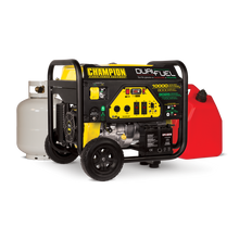 Champion 8000-Watt Dual Fuel Portable Generator w/ Electric Start