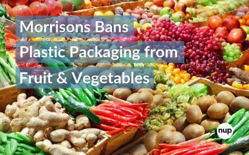 Morrisons bans plastic packaging from fruit and veg