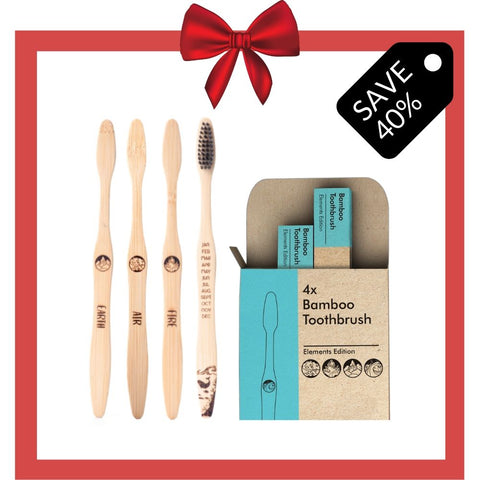 12 Packs Bamboo Toothbrush