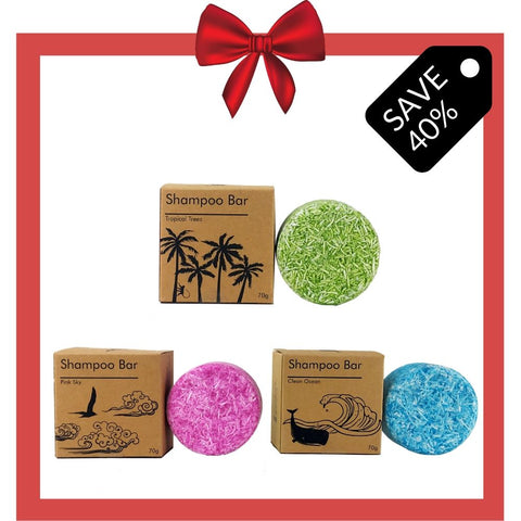 Image of 6 Sets of 3 Shampoo Bars