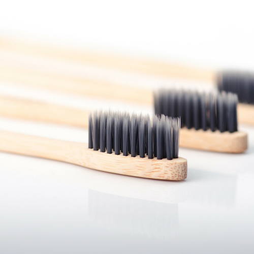 6 Packs of 4x Bamboo Toothbrush - Wholesale