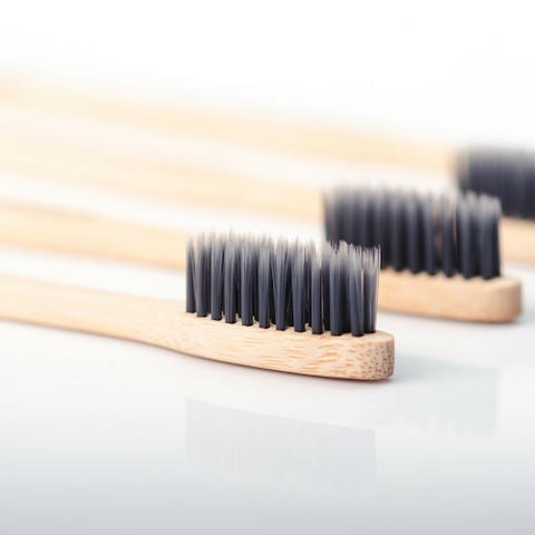 Image of 6 Packs of 4x Bamboo Toothbrush - Wholesale
