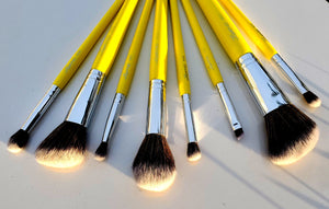 Travel makeup brush kit