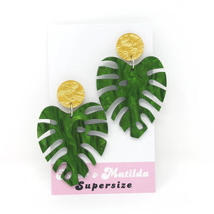 Fancy Monstera Leaves