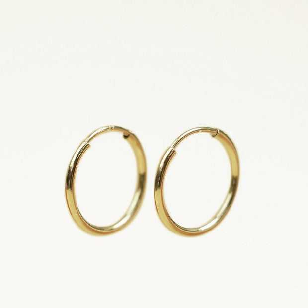 14K Gold Filled Thin Hoop Earring