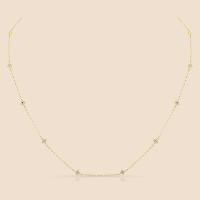May Diamond Necklace.