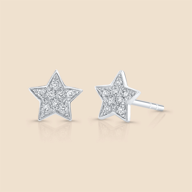Star Studded Diamond Earring