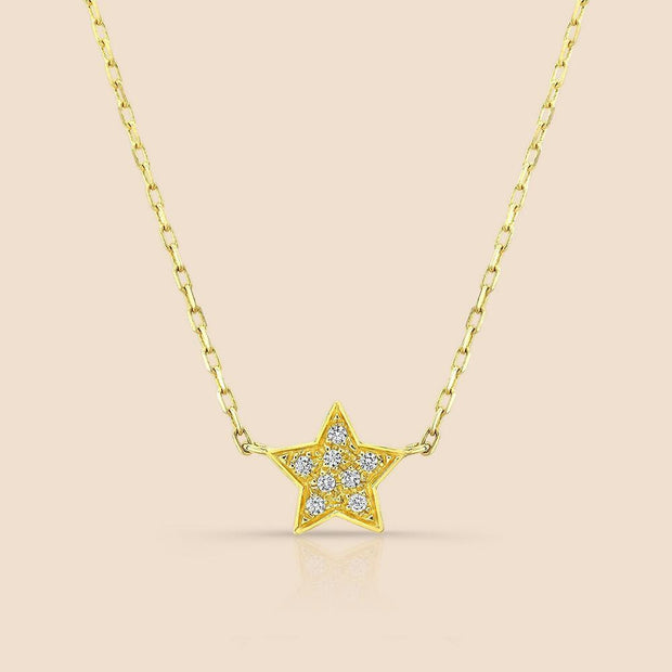 Star Studded Diamond Necklace