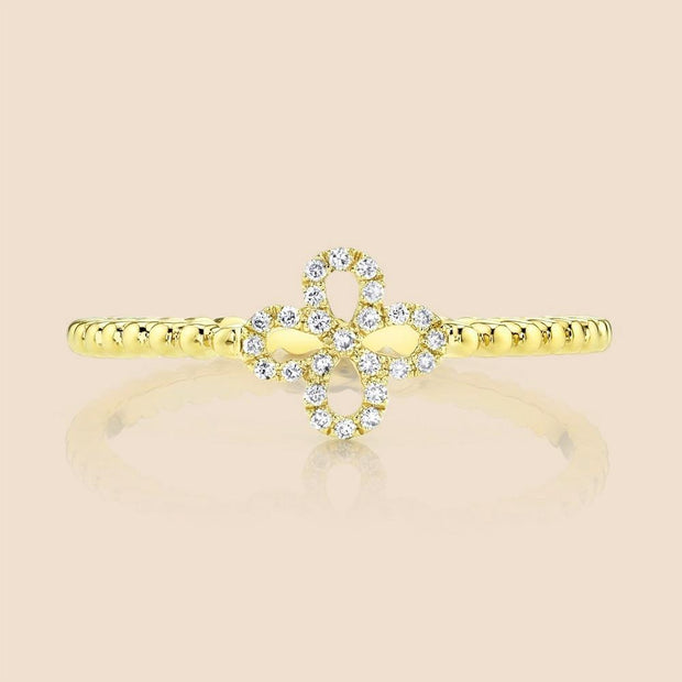 Wallflower Diamond Ring.