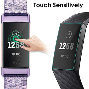 3x Screen Protector Voor Fitbit Charge 3 - Screen Protective Set - KELERINO.