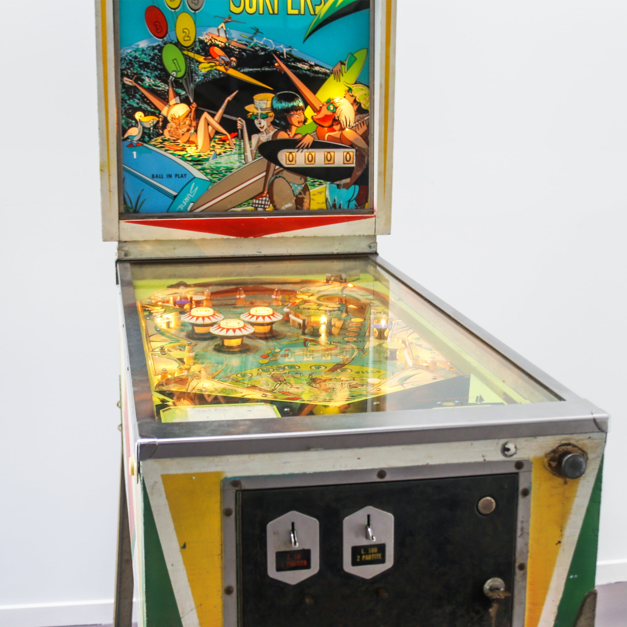 "Pinball Machine ""Surfers"" 1967"