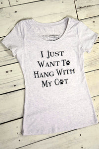 Hang With My Cat Tee