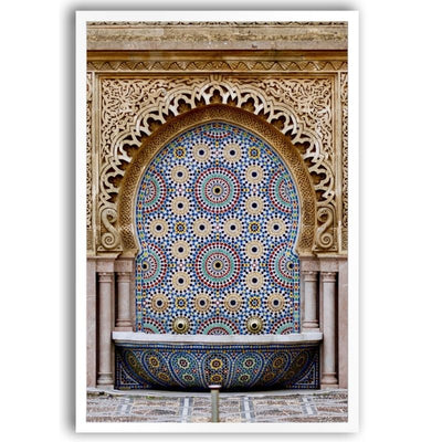 Moroccan Fountain | Rabat