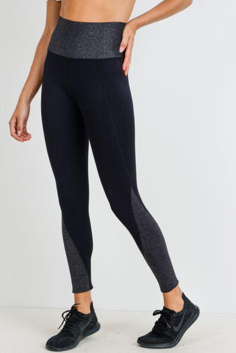 Glitter Infused Highwaist Seamless Leggings - GlamRock