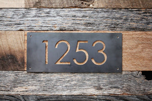 Metal Address Plaques