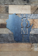 Load image into Gallery viewer, Wisconsin Home Sign