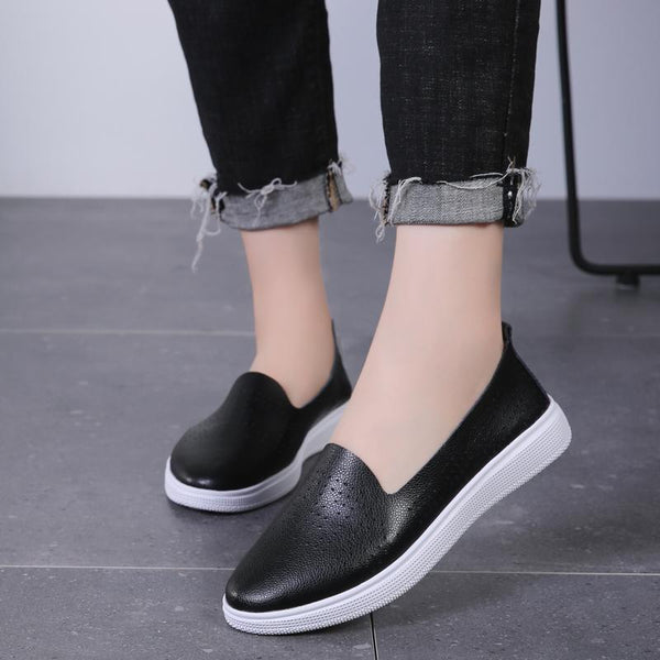 Women's Explosions Hollow Slip-on Flats