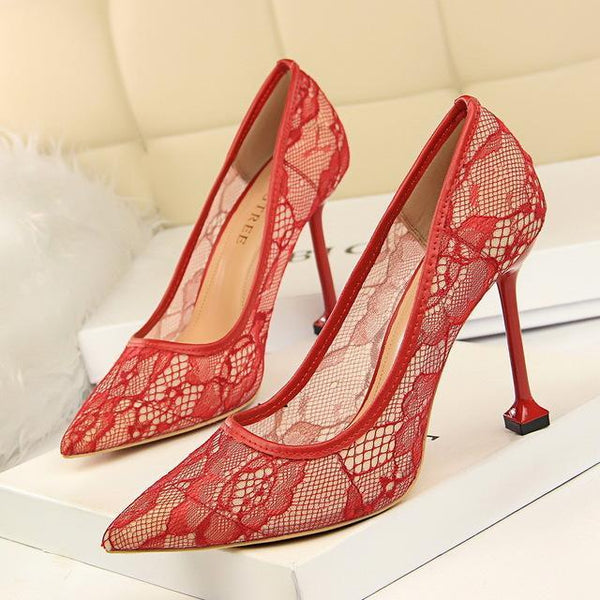 Fashion Sexy Women Pumps 9.5CM Thin High Heel