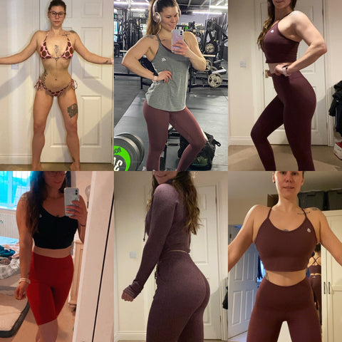 Gluteywear ambassador shares her weight loss story through exercise and eating well