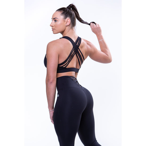 Athena Sports Bra Black