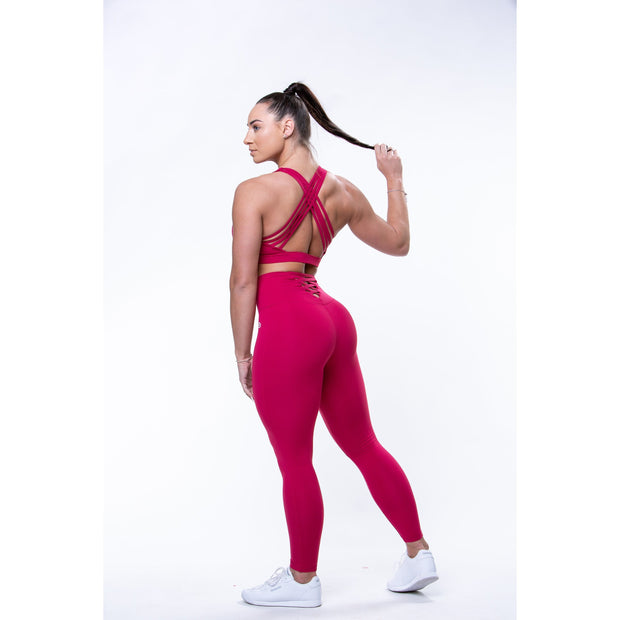Athena Sports Bra Raspberry