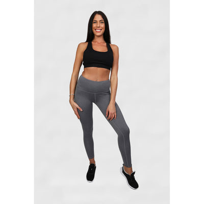 Light Grey High Waist Leggings