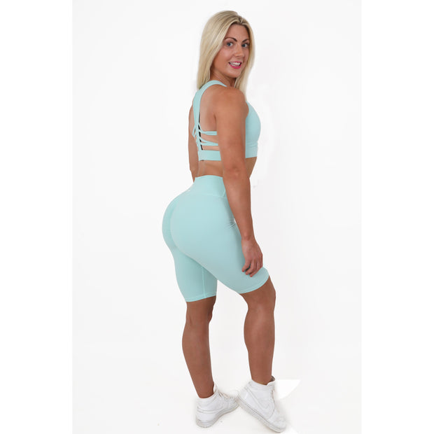 Selina Duck Egg Long Shorts