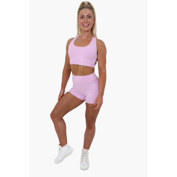Selina Pink Candy Shorts