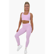 Selina Pink Candy Leggings