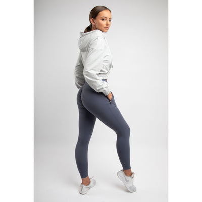 Grey/Blue High Waist Joggers