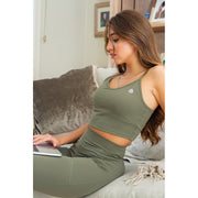 Khaki Fitted Vest