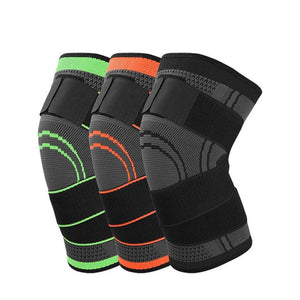 fb81a0a889 Knee Support Brace Sports Compression 3D Pressurized Weaving and Cutting  For Fitness Running Cycling Basketball Volleyball