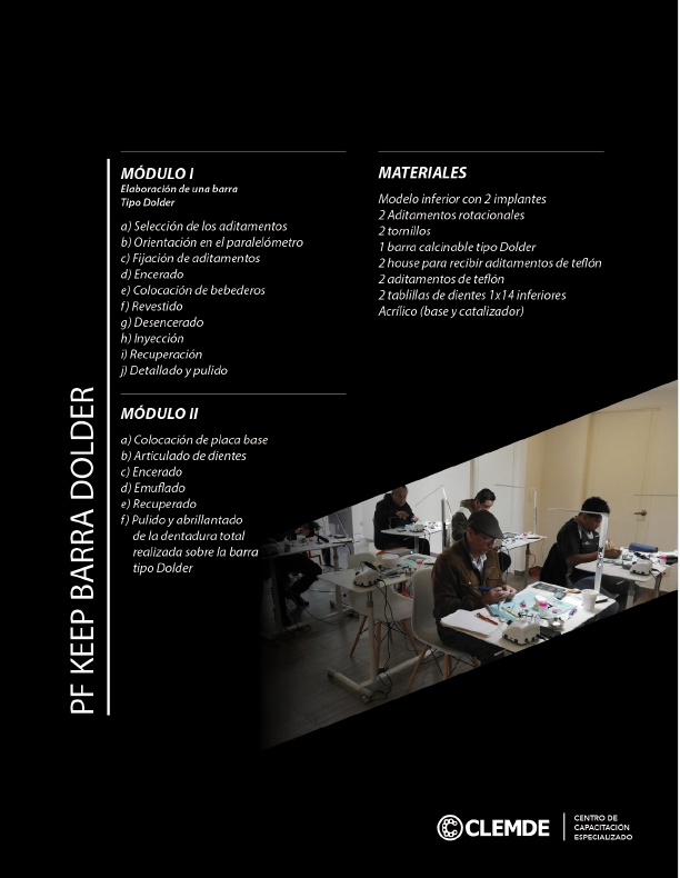 """Barra Dolder"", ""Barra Toronto"", ""Implante Dental"", ""Peek"", ""Material para Laboratorio dental"", ""Tecnico Dental"", ""Mecanico Dental"", ""Laboratorio Dental"", ""Material Dental"","