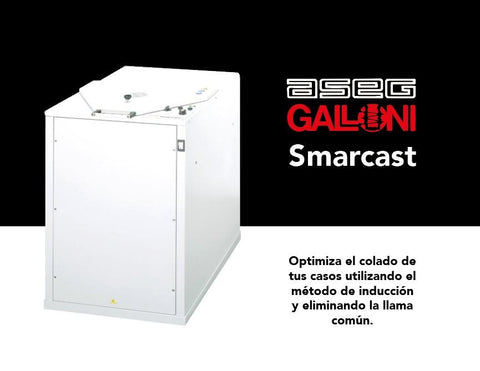 Maquina centrífuga de inducción SMART CAST GALLONI Dental GALLONI
