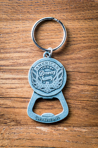 Poppin Bottle Tops American Icon Key Chain