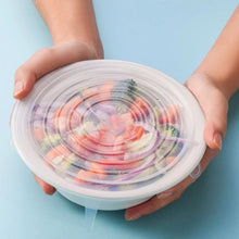 Load image into Gallery viewer, Reusable Silicone Food Lids